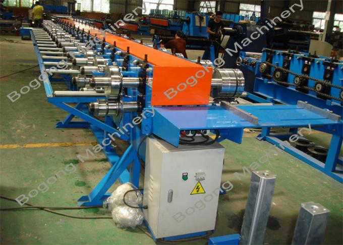 Standing Seam Roof Panel Roll Forming Machine For Straight / Tapered Roofing
