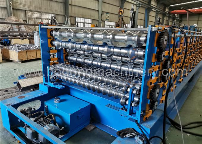 Five Sets Three Layers Roll Forming Machines Are Installing