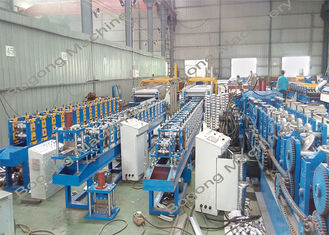 Galvanized Coil Shutter Door Roll Forming Machine Custom Design Good Performance