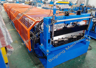 Floor Deck Metal Forming Equipment Hydraulic Cutting Large Capacity