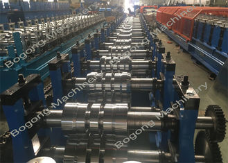 Galvanized Steel Upright Highway Guardrail Roll Forming Machine Custom Design