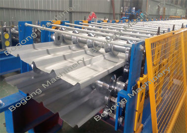 Dual Level Custom Roll Forming Machine Hydraulic System For Steel Roof Sheet