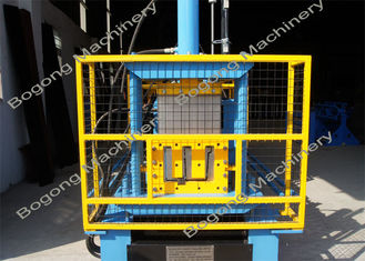 China Steel Rain Gutter Making Machine , Customized Gutter Rolling Machine supplier