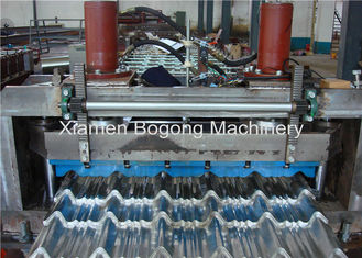 Aluminum Sheet Step Tile Roof Roll Forming Machine