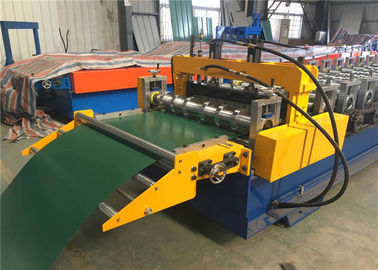 Electric Control Garage Door Roll Former , Rolling Shutter Roll Forming Machine