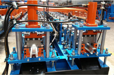 China Twins Light Steel Keel Roll Forming Machine , Hat Ceiling Metal Forming Machines supplier
