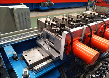 High Speed Metal Beam Roll Forming Machines , Purlin Roll Former Equipment