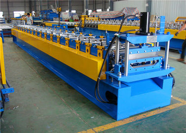 China Roof Sheet Standing Seam Roll Forming Machine , Straight Standing Seam Machine supplier