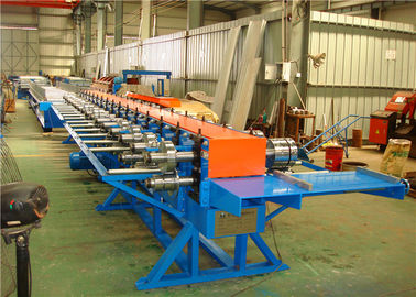 China Standing Seam Roof Panel Roll Forming Machine For Straight / Tapered Roofing supplier