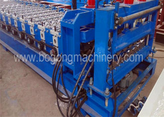 3-4m / Min Speed Blue Roof Tile Forming Machine For Aluminum Sheet Using