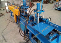 Steel Slot / Highway Guardrail Roll Forming Machine High Performance