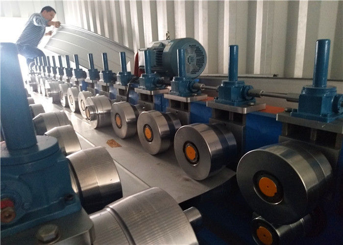 Conical Steel Roofing Machine Automatic Tapered Standing